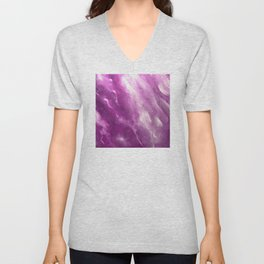 In the Company of Myself: Abstract #4 Unisex V-Neck
