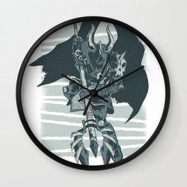 dark character Wall Clock