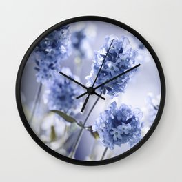 Lavender Blue 87 Wall Clock