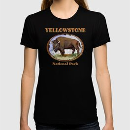 Yellowstone National Park Bison (Buffalo) T-shirt