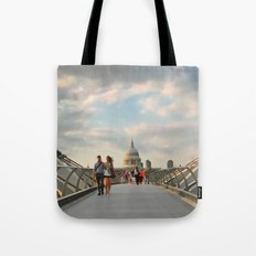 We Walk This City Tote Bag