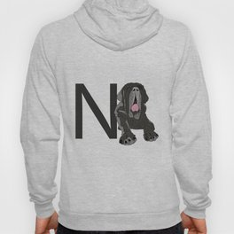 N is for Neapolitan Mastiff Dog Hoody