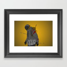 Under Pressure Framed Art Print
