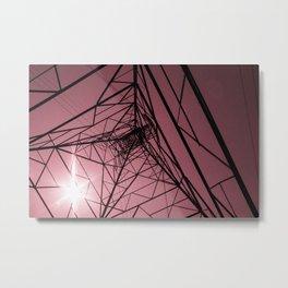 Electrics Metal Print