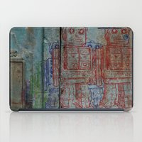 army iPad Cases featuring Robot army by Ale Ibanez