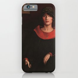 African-American 1925 Classical Masterpiece the Octoroon Girl by Archibald Motley iPhone Case