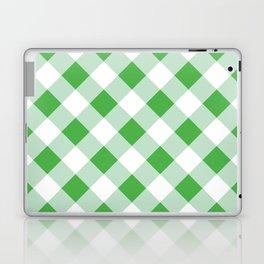 Gingham - Green Laptop & iPad Skin