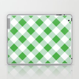 Gingham - Green Laptop & iPad Skin