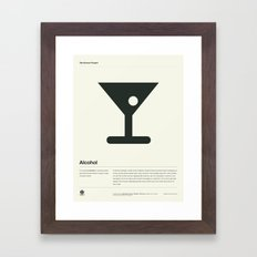 Alcohol Framed Art Print