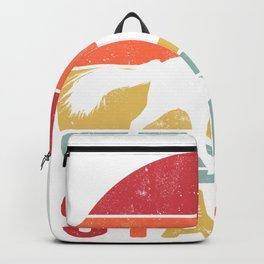 Horses Keep Me Stable Backpack