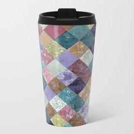 Abstract Geometric Background #27 Metal Travel Mug