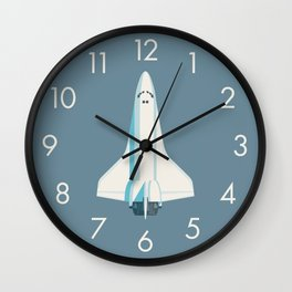 Space Shuttle Spacecraft - Slate Wall Clock