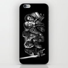 Freddy Krueger Jason Voorhees Michael Myers leatherface Darth Vader Blackest of the Black iPhone & iPod Skin