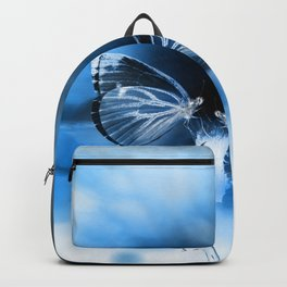 Butterfly Apocalypse Fantasy Planet Backpack