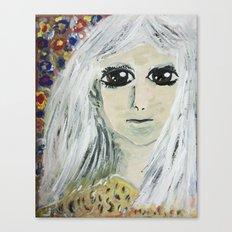 TIFFANY, PRINCESS WITH A SILVER HAIR Canvas Print