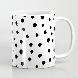 Dalmatian dots black Coffee Mug