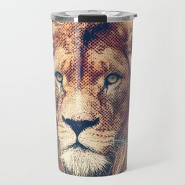 Young Lion Travel Mug