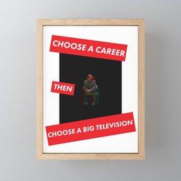 Trainspotting Quotes Framed Mini Art Print