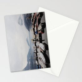 Boat Docks Stationery Cards
