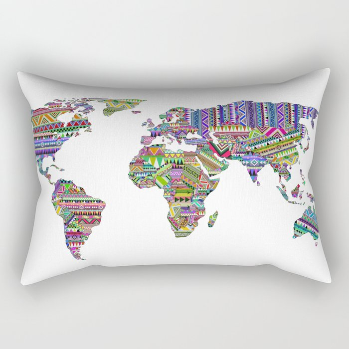 Overdose World Rectangular Pillow