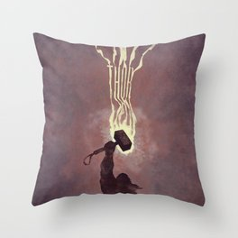 Thor Throw Pillow