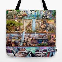 The Amazing Animal Kingdom Tote Bag