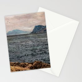 A view to the Rock of Gibraltar Stationery Cards