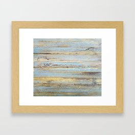 Design 111 wood look Framed Art Print