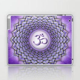 Sahasrara Chakra - Crown Chakra I - Series II Laptop & iPad Skin