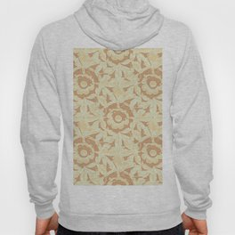 Sculpted Floral Stonework Hoody