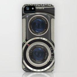 Vintage Camera (Yashica 44) iPhone Case