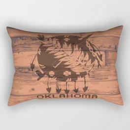 Oklahoma Flag Brand Rectangular Pillow
