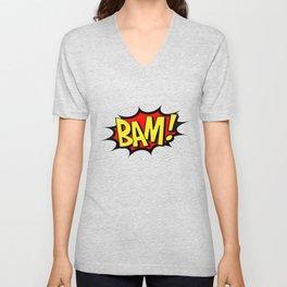 Bam! Kapow! Boom! Unisex V-Neck
