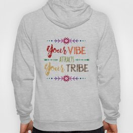 Colorful Tribal Bohemian decorative design Hoody