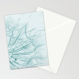 Dandelion In Blue Stationery Cards