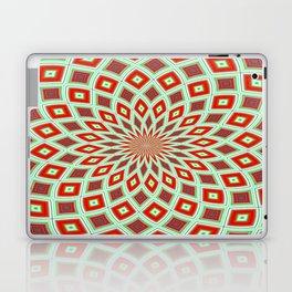 Red And Green Hallucinogenic Kaleidoscope Laptop & iPad Skin
