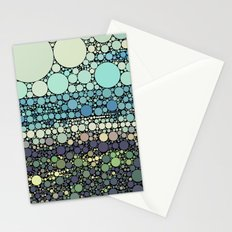 Beach Rounds Stationery Cards
