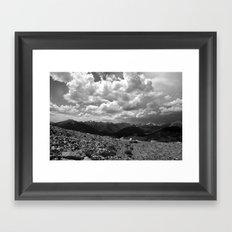 Colorado Cloud Framed Art Print