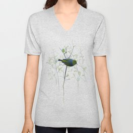 Little Silvereye Unisex V-Neck