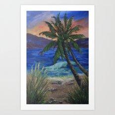 A New Sunset AC161208c Art Print