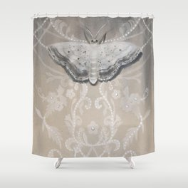 Lace Moth Shower Curtain