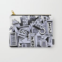 Jumbled City full of assorted junnk Carry-All Pouch