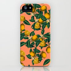 Lemon and Leaf Slim Case iPhone (5, 5s)