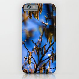 Concept nature : Buds in spring iPhone Case