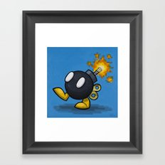 Bobomb Framed Art Print