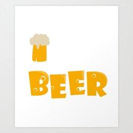 Irish youd buy me a beer Art Print