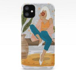 Boss Lady #illustration #painting iPhone Case