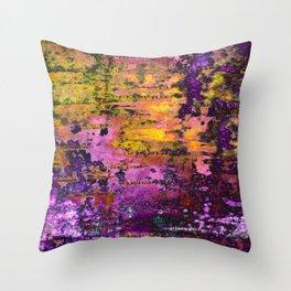 Purpling Throw Pillow