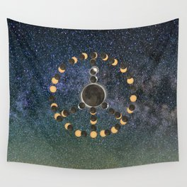 Solar Eclipse – Peace on Earth Wall Tapestry