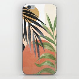 Abstract Tropical Art VI iPhone Skin